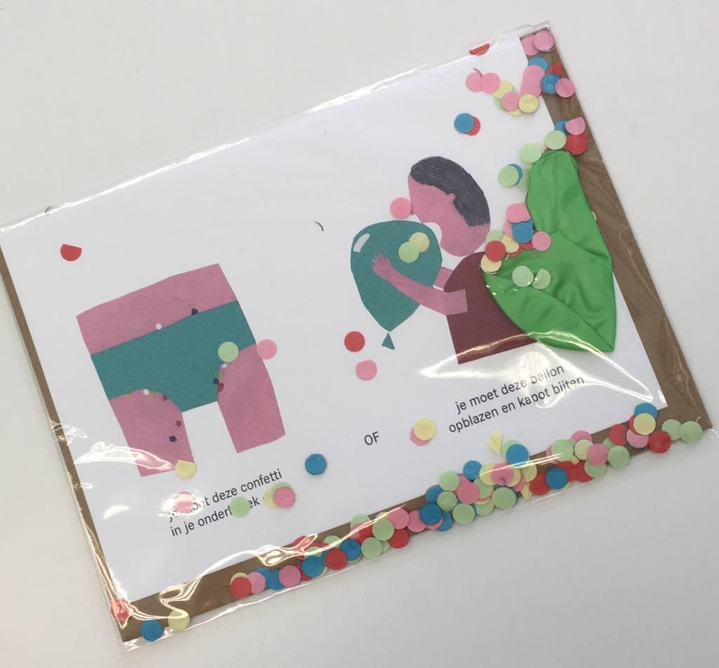 Dilemma op Dinsdag Birthday Card with Balloon