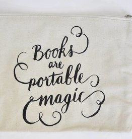 BB canvas case: Books are portable magic