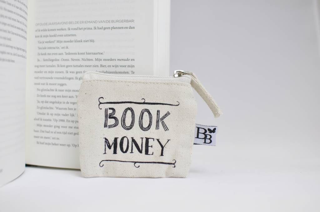 BB canvas case: Book Money (small)