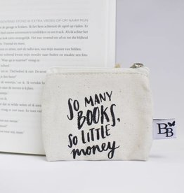 BB canvas case: So many books, so little money