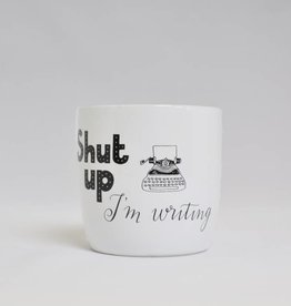 Blossom Mug: Shut up, I'm Writing