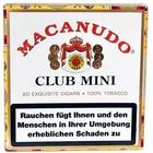 Macanudo  Cafe - Club Mini 20er