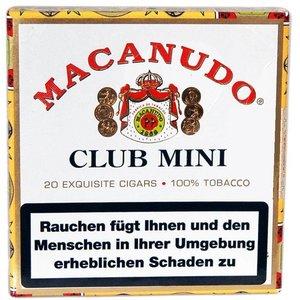 Macanudo  Cafe Mini (20er Packung)