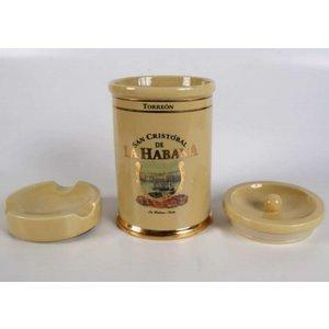 San Cristobal de La Habana  Torreon Jar gefuellt mit 25 Zigarren