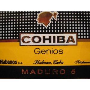Cohiba Genios (Maduro 5)