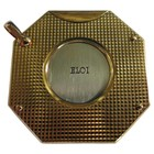 Eloi (France) 7G Zigarrenabschneider Bronze - diamantiert-gemustert