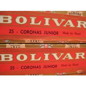 Bolivar Corona Junior (box of 25 cigars)