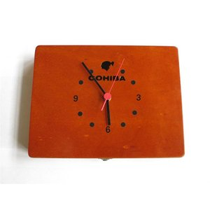 Cohiba Zigarren Wanduhr -  Esplendidos mit Sekundenzeiger