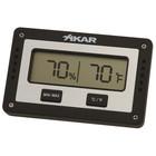 Xikar digitaler Hygrometer RECHTECKIG - Temperatur