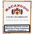 Macanudo  Cafe - Club Zigarillos - 20er