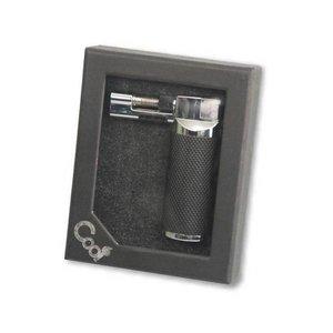 Cool JET-Flame Feuerzeug / Standmodell - Farbe SCHWARZ