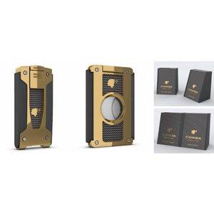 Cohiba Set (Feuerzeug und Zigarrenabschneider / Material: METALL)