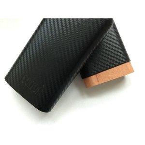 COLTON Zigarrenetui COLTON-Carbon für 3 Zigarren - Material- CARBON - Zedernholz