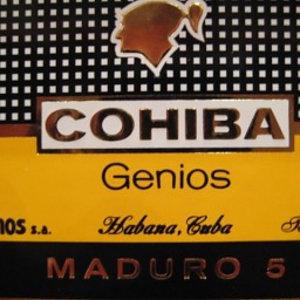 Cohiba Genios (Maduro 5) - 10er Kiste