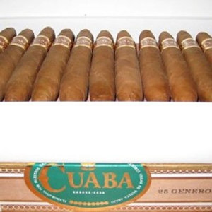 Cuaba  Generosos (box of 25 cigars)