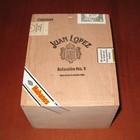 Juan Lopez Seleccion No. 1 (wooden box of 25 cigars)
