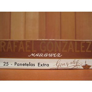Rafael Gonzalez Panetelas Extra (25er Kiste)
