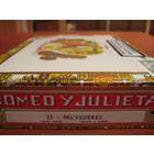Romeo y Julieta Belvederes (25er Kiste-CB)