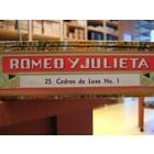 Romeo y Julieta Cedros de Luxe No.1 (25er Kiste)