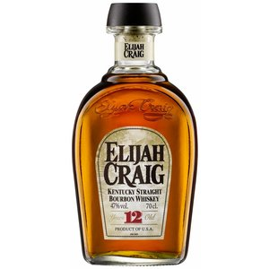 Elijah Craig 12 Years Old Straight Bourbon Whiskey