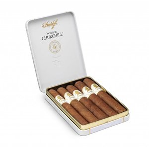 Davidoff Winston Churchill Short Cigars Petit Panatela