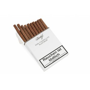 Davidoff Mini Platinum cigarillos (pack of 20)