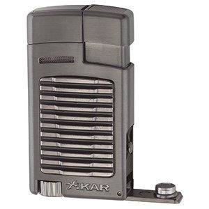 Xikar Zigarrenfeuerzeug Forte - Single Gunmetal