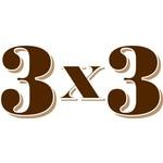 3x3 Zigarren