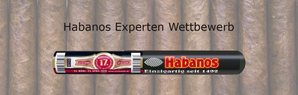 19.04.2018 - Habanos Experten Wettbewerb bei Zigarren Herzog am Hafen