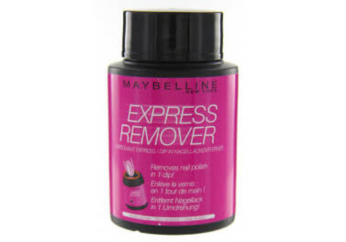 Maybelline Nagellakremover Express 75 ml