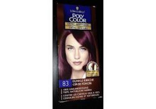 Poly Color Haarverf 83 Donker Kersenrood