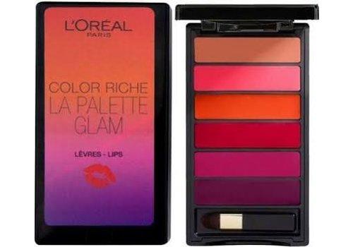 L'oreal Lip Palette Color Riche Glam