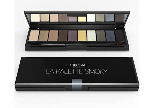 L'oreal Oogschaduw Palette Ombree
