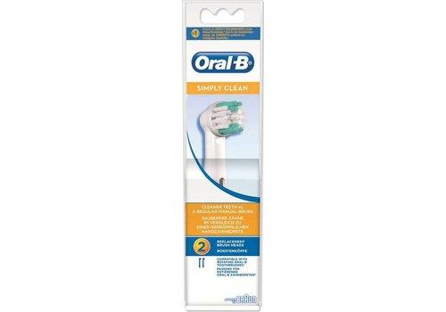 Oral B Opzetborstels EB 17B Simp Clean 2
