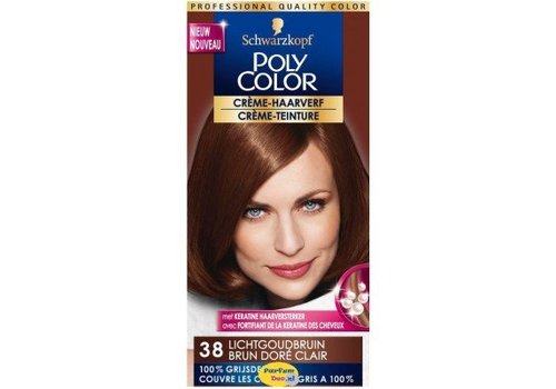 Poly Color Haarverf 38 Lichtgoudblond