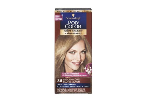 Poly Color Haarverf 35 Middenblond