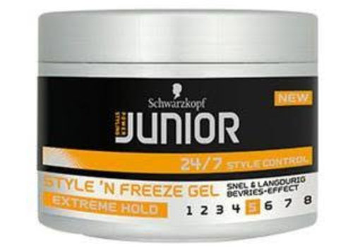 Junior Power Styling Style `N Freeze Gel