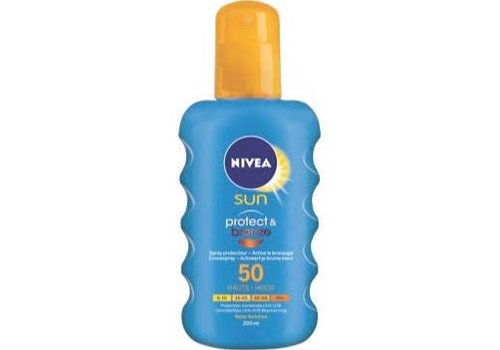 Nivea Sun Spray Protect&Bronze F50