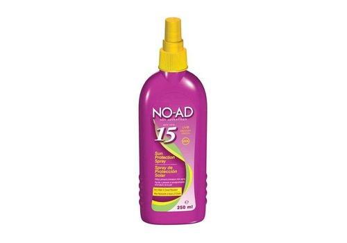 NO-AD Zonnebrand Spray SPF 15