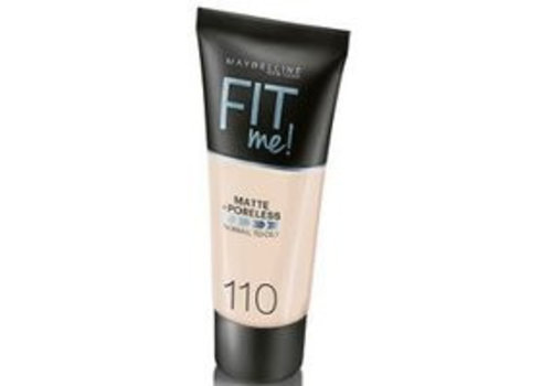 Maybelline Foundation Matte Fit Me 110