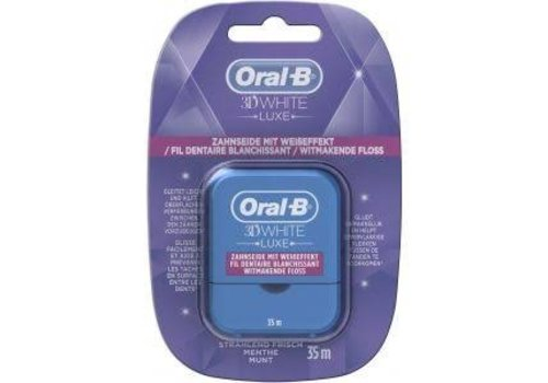 Oral B Interdentaal Floss 3D White 35mtr