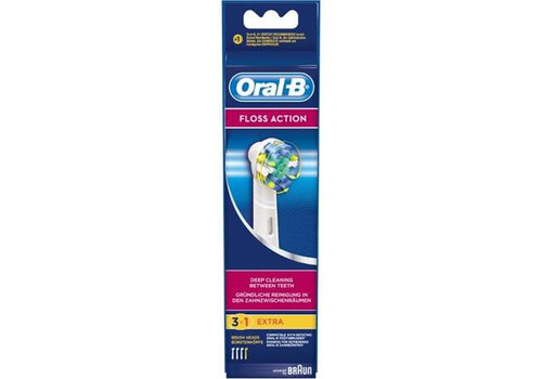 Oral B Opzetborstels EB25-4 Floss Action