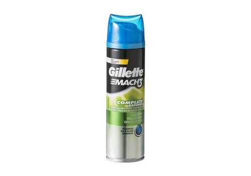Gillette Scheergel 200 ml Mach3 Gev.Huid