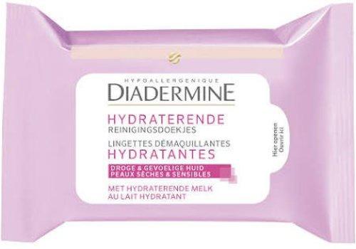 Diadermine Reinigingsdoekjes Hydraterend