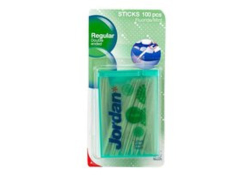 Jordan Dental Sticks Regular 100 stuks