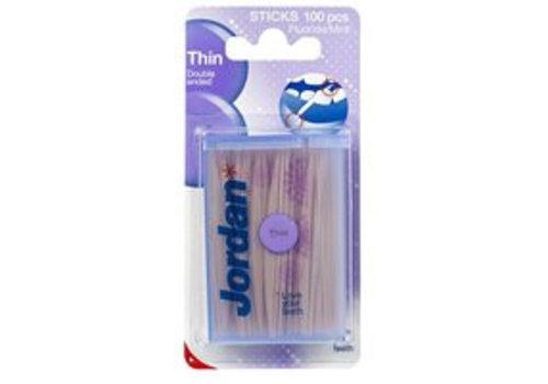 Jordan Dental Sticks Dun 100 stuks