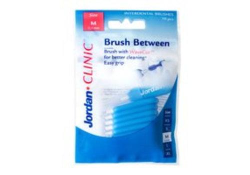 Jordan Clinic Brush Between Size M 10st