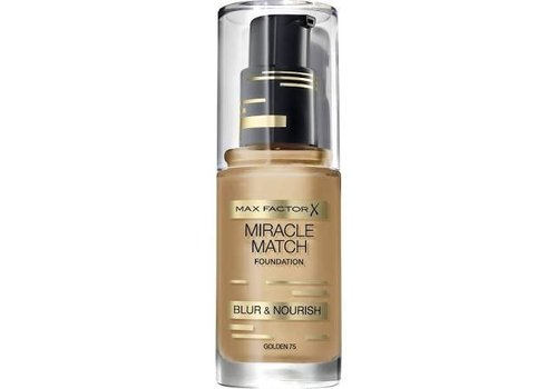 Max Factor Foundation Miracle Match 075