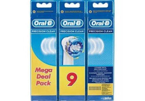 Oral B Opzetborstels EB 20 Prec.Clean 9s