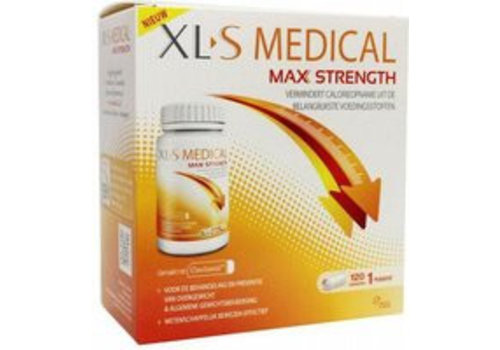 XL-S Medical Max Strength 120 Tabletten